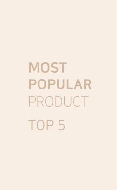 most popular product top5